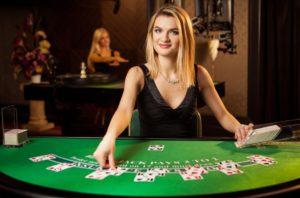 Live blackjack by Evolution Gaming