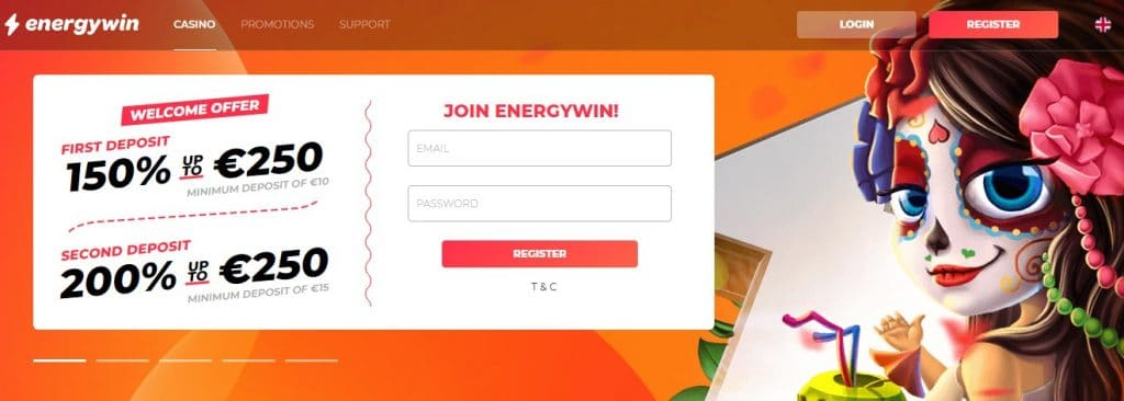 EnergyWin Casino Review