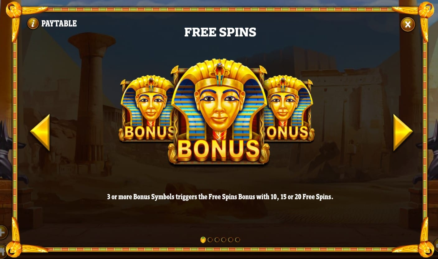 Cleopatra's Fortune Free Spins
