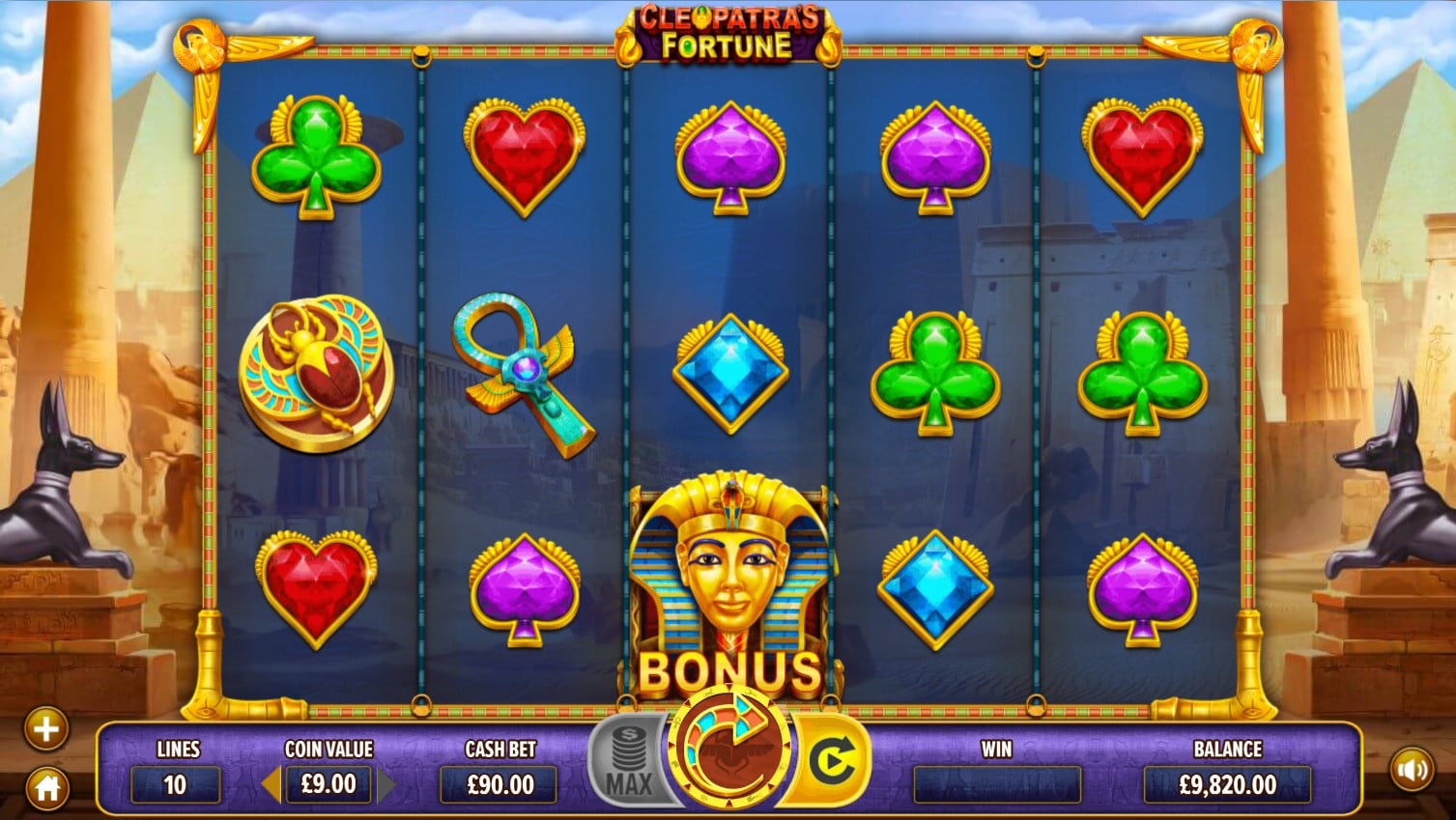 Cleopatra's Fortune Slot Review