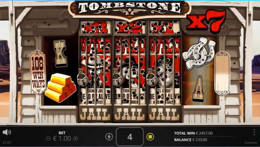 Tombstone Free Spins