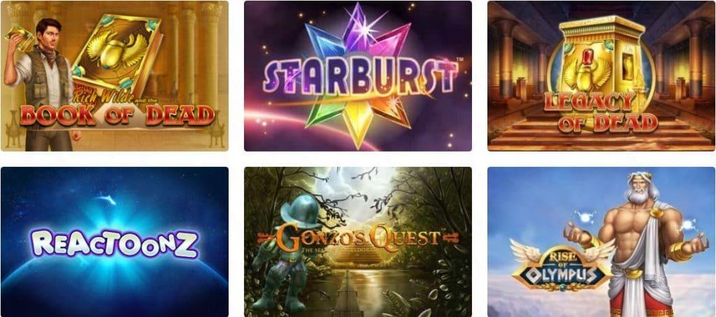 Casino Dome video slots