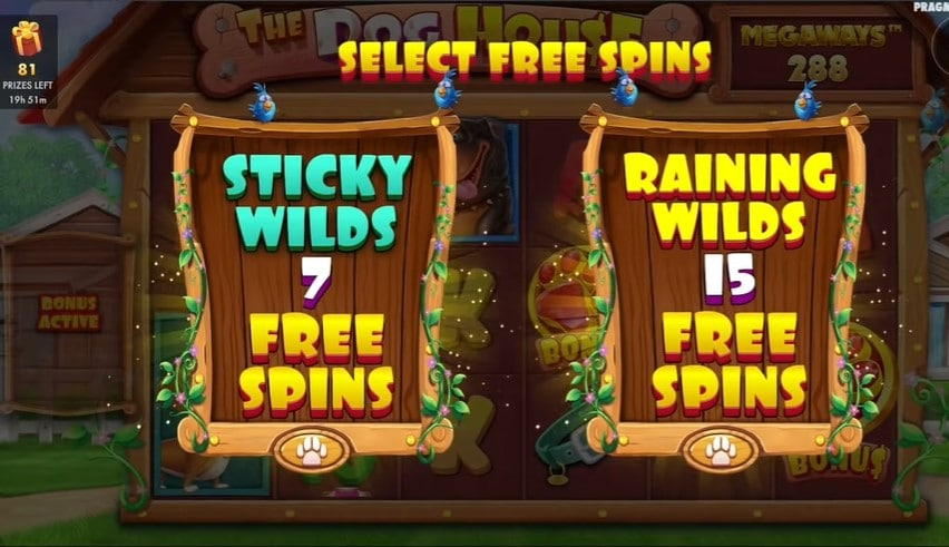 The Dog House Megaways free spins