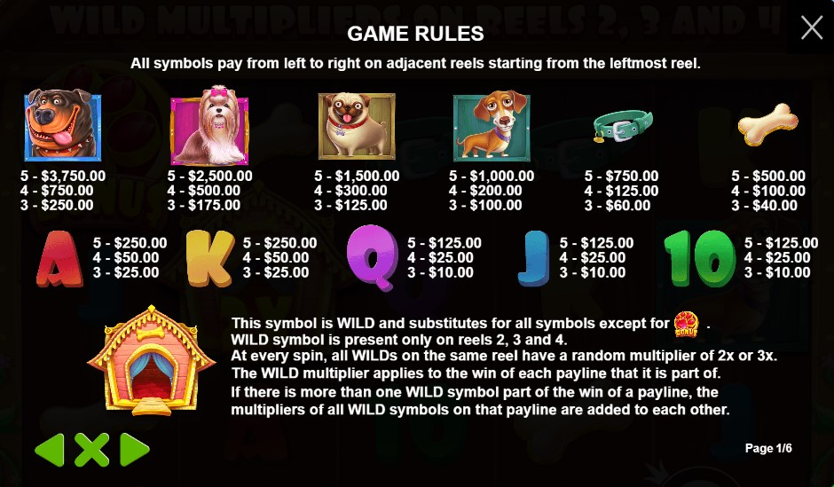 The Dog House Game Rules