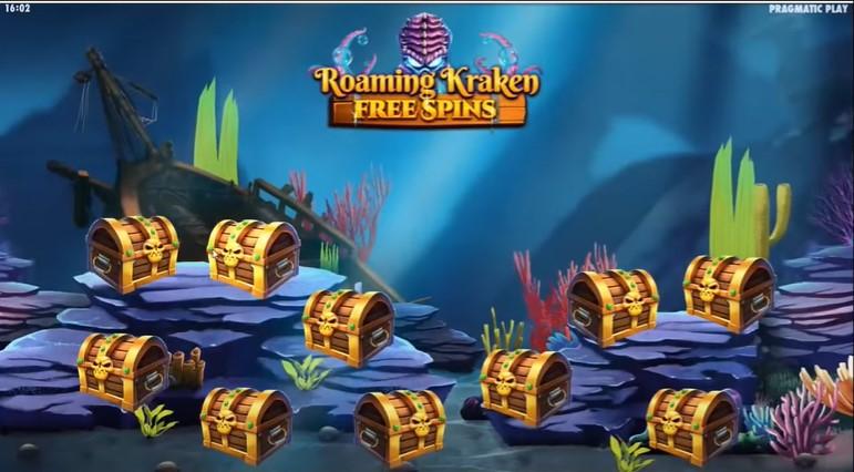 Roaming Kraken Free Spins