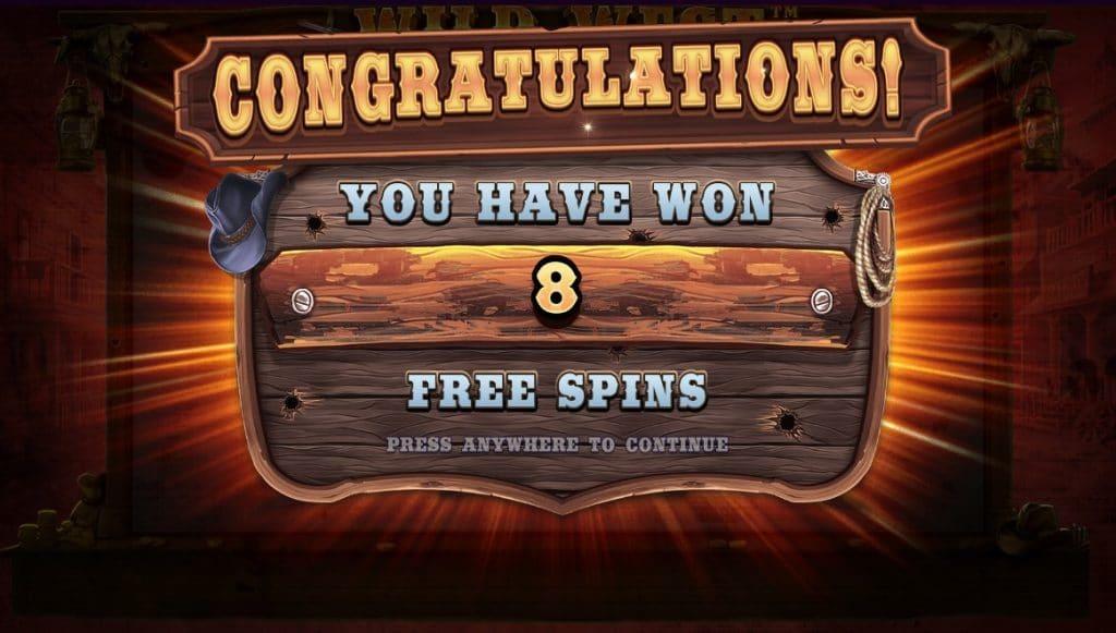 Wild West Gold Bonus