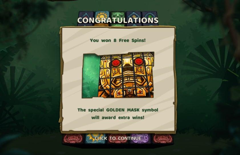 Aztec Twist free spins