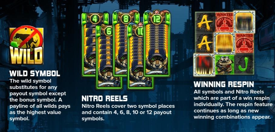Nitropolis 2 Slot Bonus